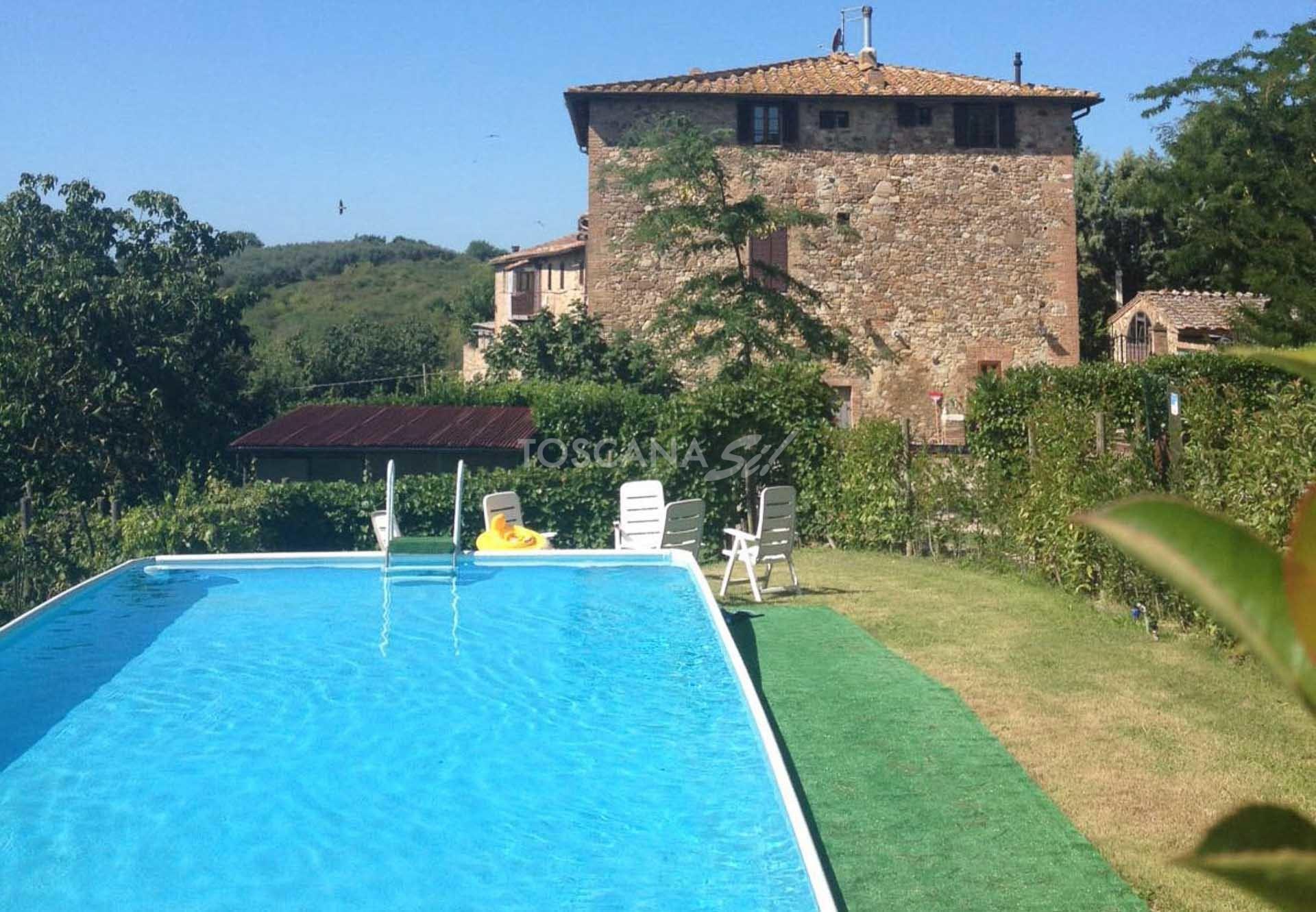 Toscana Si - Il Ferraiolo - Rustikales Landhaus mit 4 ...